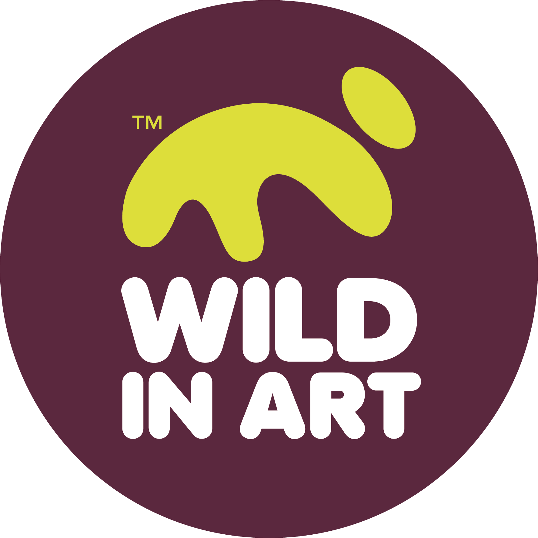 Wild in Art Footer logo